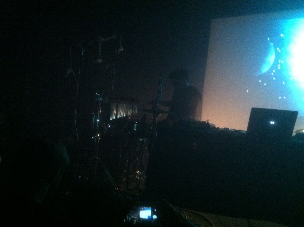 Shigeto Drumming at the Crocodile in Seattle decibel festival 2013