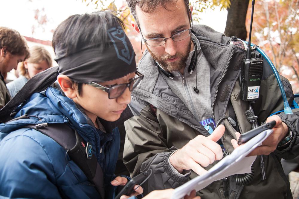 Resistance members planning their strike