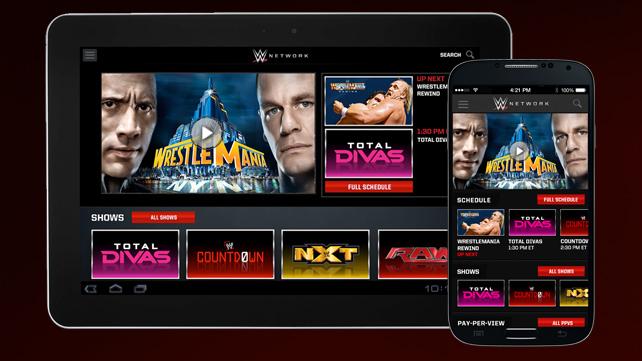 wwe network app