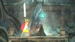Aurora gets her sword.