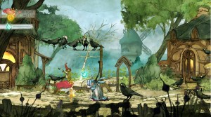 Child of Light proves the power of Ubi Art, by bringing  a painting into motion.
