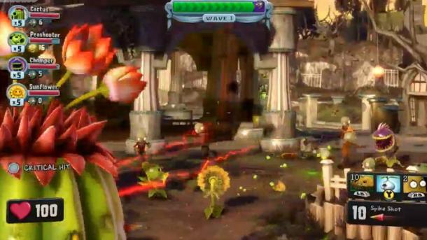 Charming Plants Vs Zombies: Garden Warfareu0027s New Gameplay.