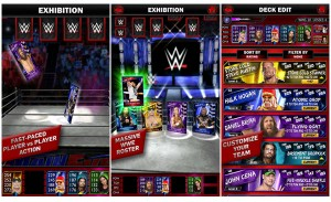 WWE Supercard in action.