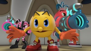 Pac-Man as he appears in Ghostly Adventures 2.