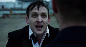 Robin Lord Taylor is amazing as The Penguin.