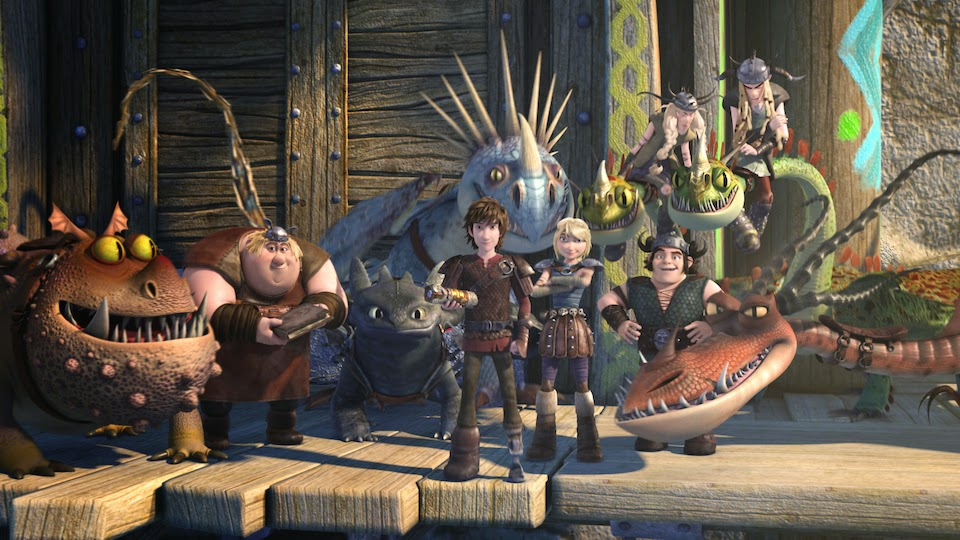Dreamworks dragons race to the edgeseason 3 part 1 review otaku hiccup and crew in their new designs matching those of how to train your dragon 2 ccuart Image collections