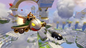 Air, land, and seas come into play with Skylanders Superchargers.