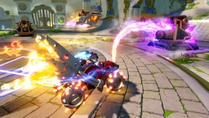 Vehicles bring a new dynamic to Skylanders.