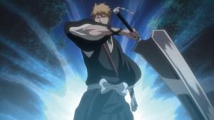 Ichigo in his fullbring.