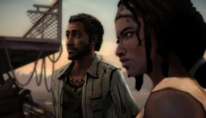 Michonne and her new comrade Pete.
