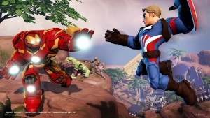 Four player action works in Disney Infinity.