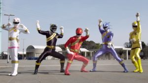 The Wild Force Rangers.