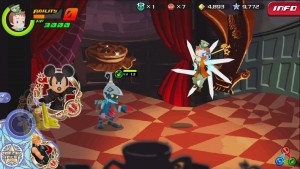 Kingdom Hearts Unchained X gameplay.