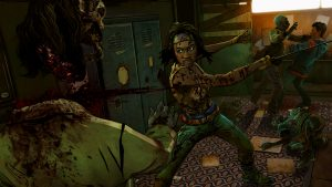 Michonne takes the lead with interesting gameplay.