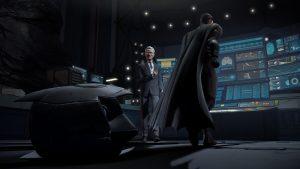 Batman as he appears in episode one.