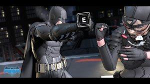 Gameplay of Telltale Batman.