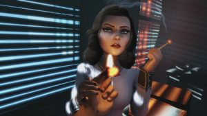 The return of Elizabeth in Bioshock: The Collection.