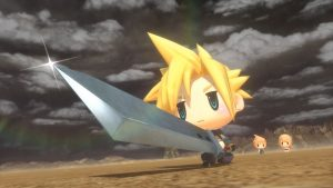 The art work for World of Final Fantasy.