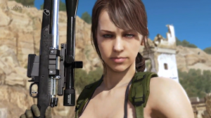 Quiet in MGS V.