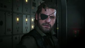 Snake as he appears in MGS V.