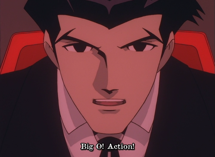 Big O Anime Characters : The big o complete collection blu ray review otaku dome