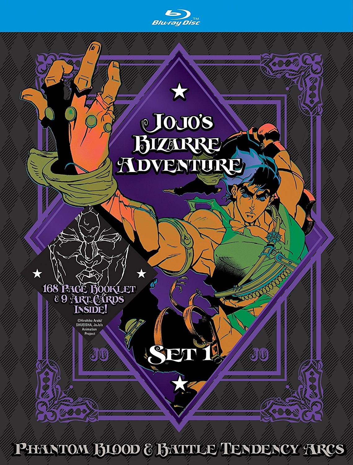 Jojo's Bizarre Adventure Blu-Ray Set 1 Review | Otaku Dome | The