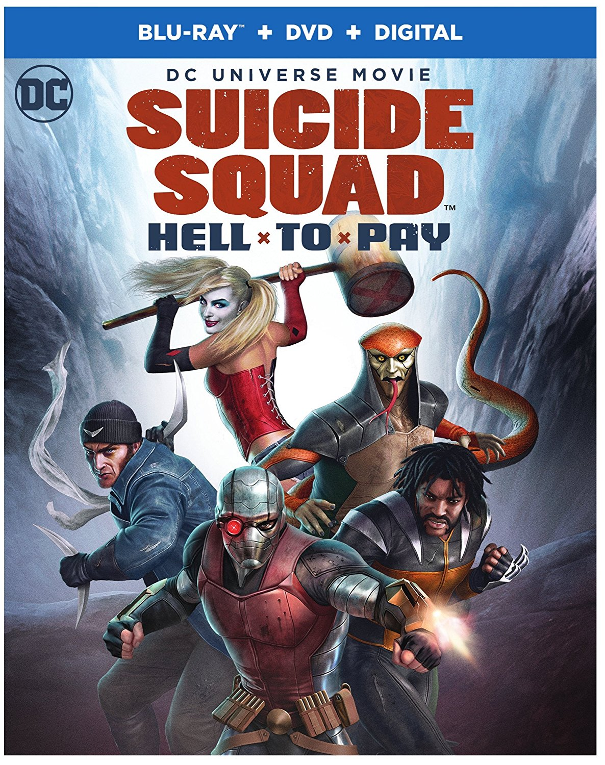 Suicide Squad Hell To Pay Deutsch