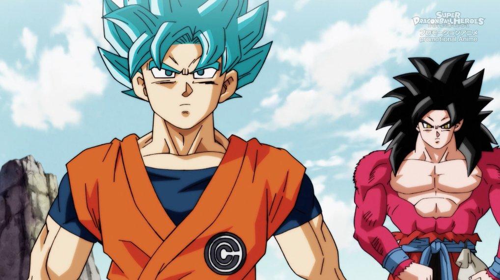 super dragon ball heroes episode 1 goku vs goku a super battle