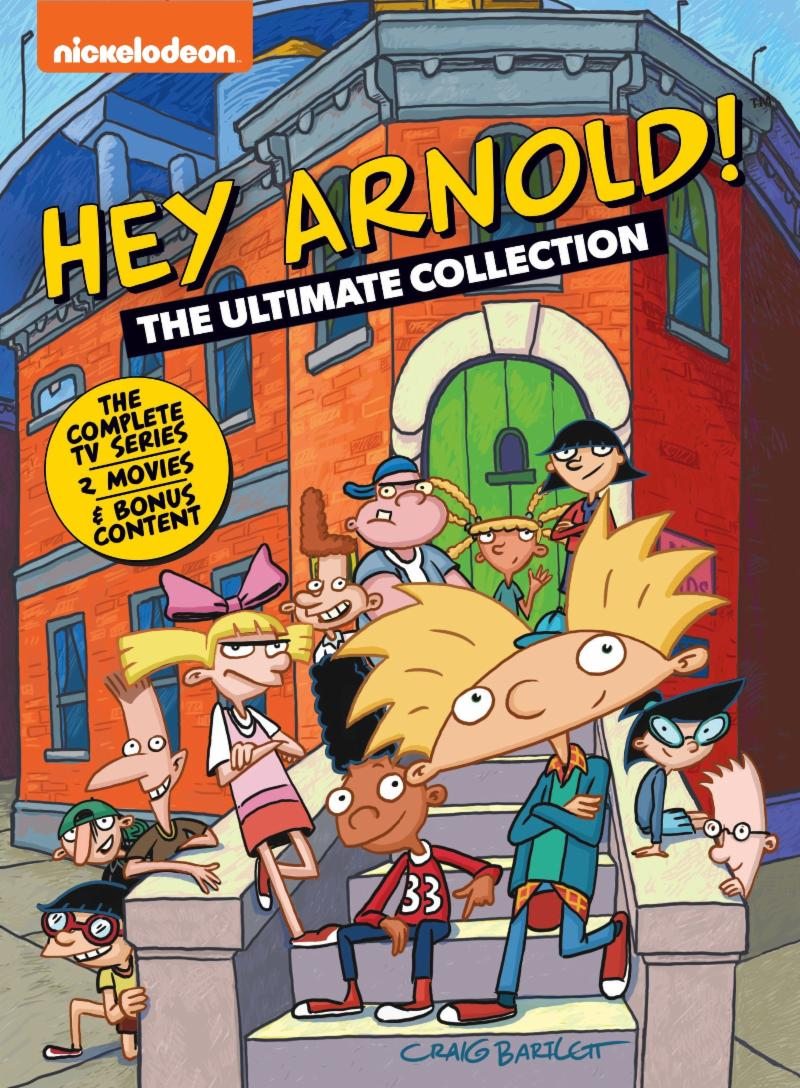 nick announces rocko & hey arnold complete series sets | otaku dome