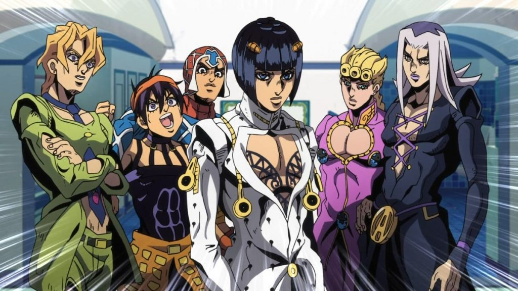Wind Giorno Meets – Geekpixie