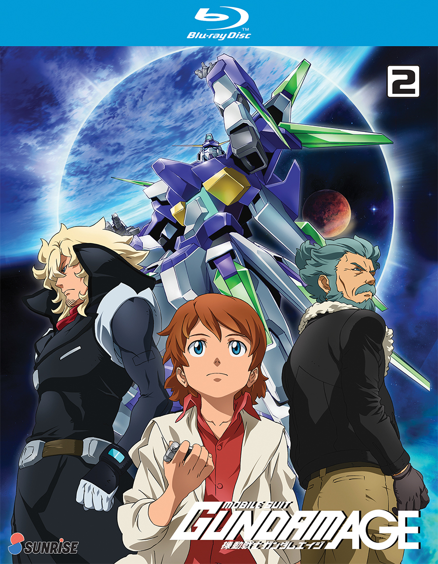 Mobile Suit Gundam Age Tv Series Collection 2 Dated